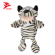 "Factory made 12"" babies toddlers cute tiger full body plush hand puppet"