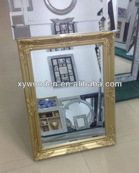 Gold Ornate Mirror Frame