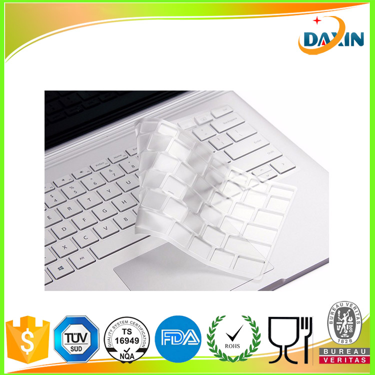 High quality Eco-friendly silicone keyboard cover