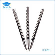 Fashionable Zebra-stripe New Metal Ball Pen for Promotional