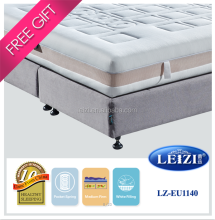 Wholesale 7-zone pocket spring double size bed mattress