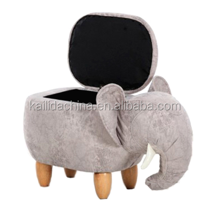 <strong>07</strong> Good price home furniture Elephant shape Shoe stool footstool,design furniture