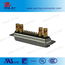 Power Customized D-sub Connector 17W2 Male Female Power gold D-sub Connectors