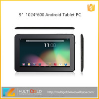 Cheapest Price android tablet pc 9 inch 1GB 8GB Allwinner A83T Octa Core 1024*600