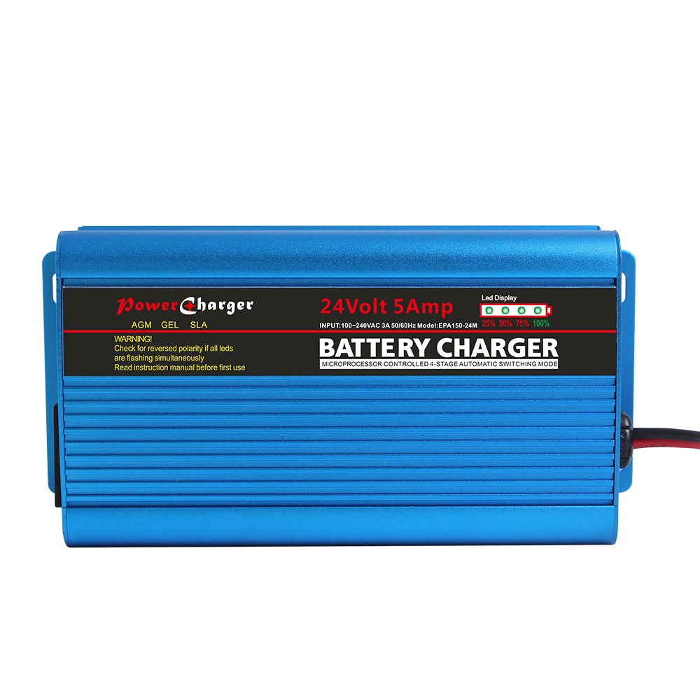 100v~240v input to 12v 24v 36v 48v Automatic Intelligent 150W Battery Chargers 10A 5A 4A 3A