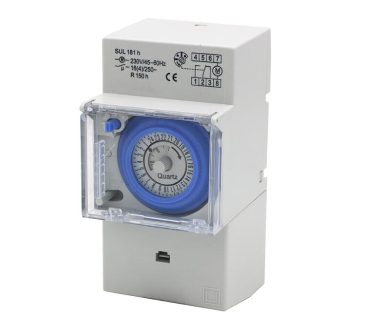 SUL181h without battery 24 hour timer Mechanical electronic mechanical programming timer switch