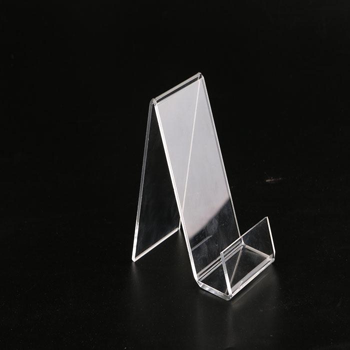 Acrylic phone holder desktop wholesale cell phone displays solution for convenience stores