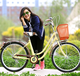 Hot sale cheap lady bicycle/vintage bike with bicycle gear set