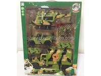 big kids plastic mini light model military trucks play set car toy
