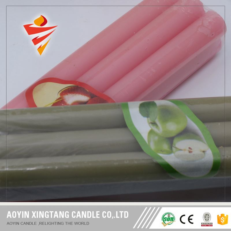 China Supplier Color Household Nonflame Candle
