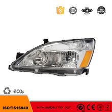 OE 33151-SDA-A01 33101-SDA-A01 China Oem Car Headlight Headlamp for accord 2003- 2007