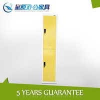 different color available 2 door small metal wardrobe lockers for kids