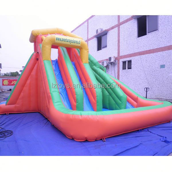 boat water slide , LZ-B3018 kids water slide for aqua park