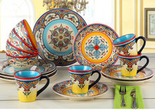 Plate mugs bowl ceramic Wholesale Tableware Sets