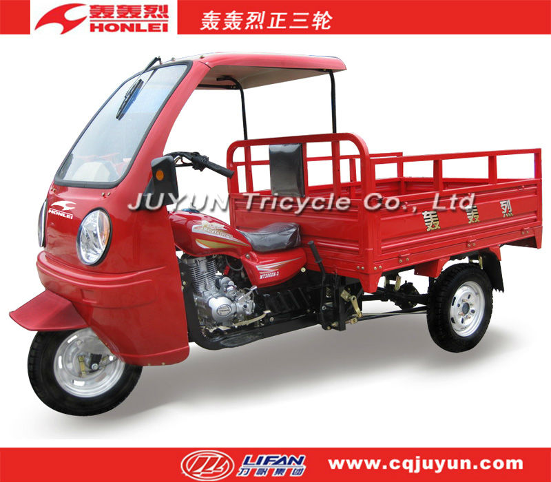 LIFAN semi-cabin tricycle/250cc water-cooled trimoto HL250ZH-C08