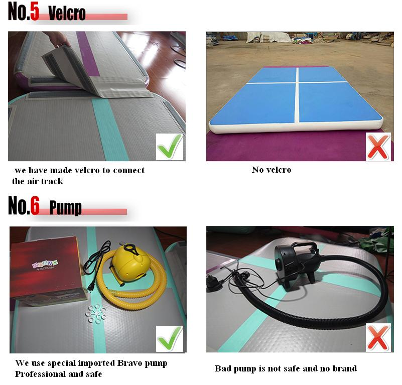 Get $500 conpons inflatable gym floor mat for gymnastics