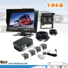 "7"" LCD 24V High quality lcd display car parking sensor system for Garbage Truck"