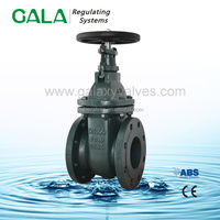 DN 125 PN16 SS420 SHAFT BS5150 MSS SP-70 NRS Metal seated gate valve Cast Iron Body Fig 3129