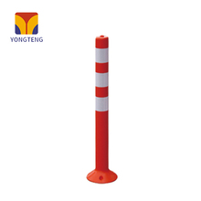 YT-J003 EVA warning column plastic flexible delineator safety crash barrier post