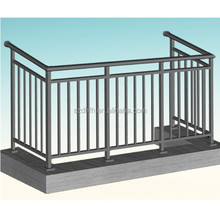 powder coated prefabricated balcony