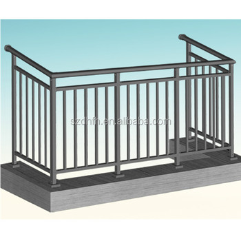 Powder Coated Prefabricated Balcony Buy Prefabricated