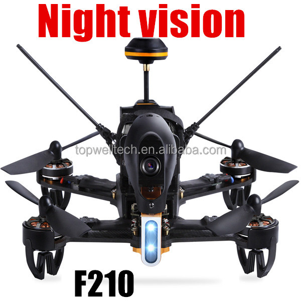 2016 latest F210 GPS Racer RC night vision fpv camera waterproof drone RTF with DEVO 7 Remote Control OSD