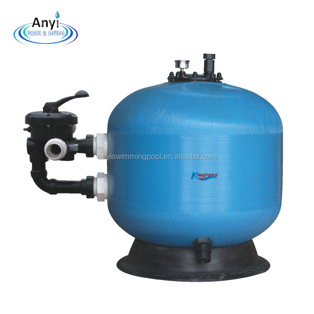 rapid sand filter by quarz media with lower price for pool