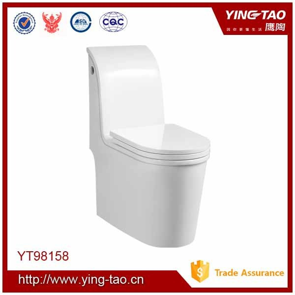 Structural durability one piece toilet wc ceramic ablution unit toilet