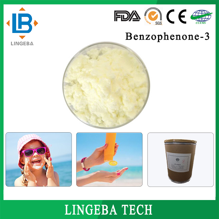Alibaba China Low Price Cosmetic Raw Materials CAS No 131-57-7 Benzophenone-3