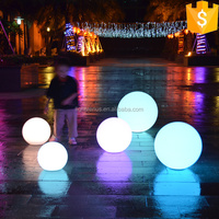 Christmas led light outdoor garden decoration color changing flash led sphere waterproof ball light