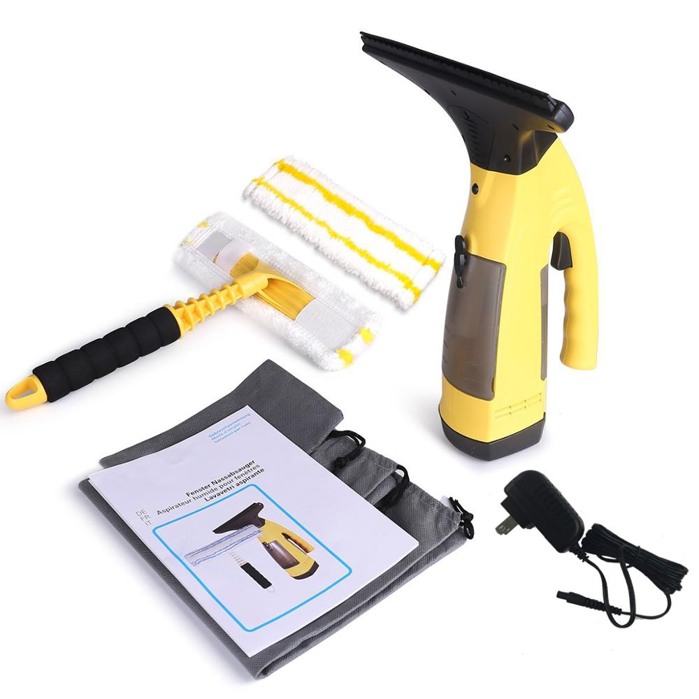 Window Vacuum <strong>Cleaner</strong>, Prostormer Cordless Window Vac Streak-free Cleaning Tool Kit with Vacuum Squeegee and Spray Bottle---J