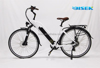Women lady girls tailg e bike 700CC city urban e bike 2 seats with panasonic li battery