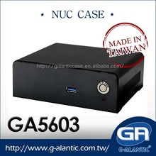 GA5603 -Nuc Cases For Intel Mini PC Horizontal Computer Case