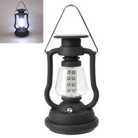 Rechargeable Lantern Camping Lights Solar Camping Lantern With Mobile Phone Charger