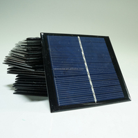 China Factory Offer Customized Mini Epoxy Solar Panel 1W 6V 165mA 95*95*3MM Solar Panel Customization