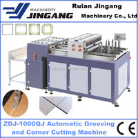 MDF Jewelry Box Grooving Machine with Corner Cutting Function