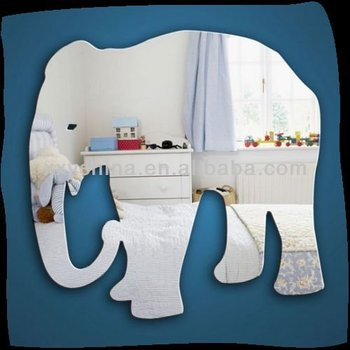 high quality elephant shape mirror