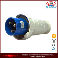 2016 Hot selling industrial 2P+E 63A connector plug 220v