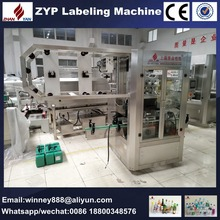 Automatic bottle can cup sleeve labeling machine after filling capping machine