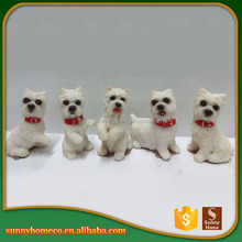 Cute Polyresin Animal In Dog Design/ Custom Resin Animal Figure