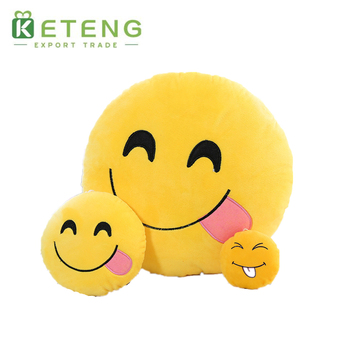 PP cotton emoji pillow octopus poop plush stuffed toy