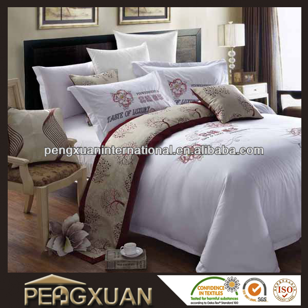 PX soft polyester fiber filled duvet in hotel