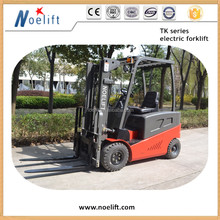 1t/15t/2t/2.5t/3t/3.5t 4-wheel,electric forklift, with 3stage 4.5m Container Mast with Side Shifter