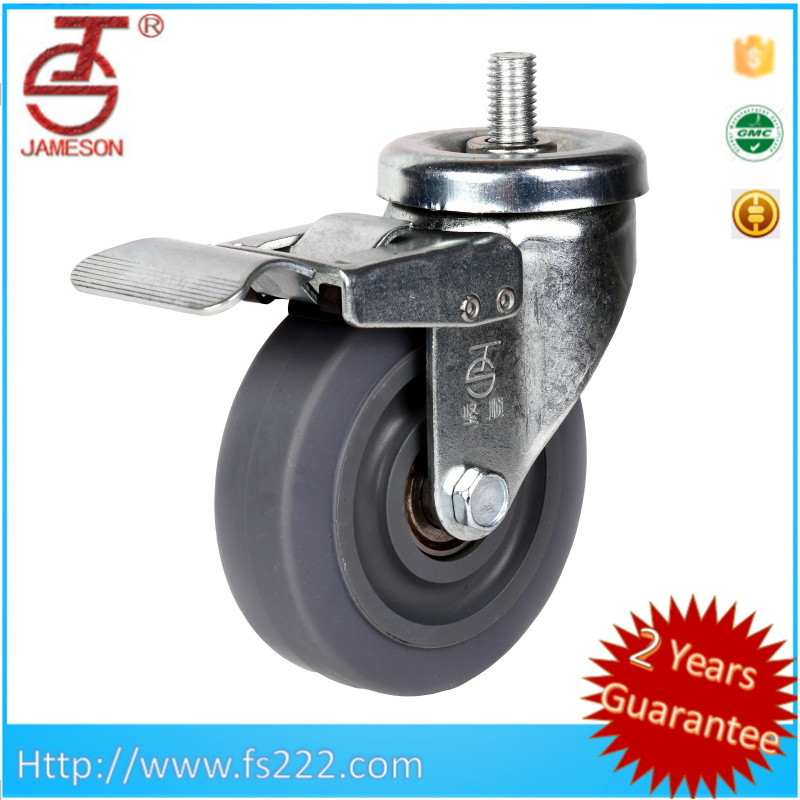 pallet truck Nylon / pu / rubber steer wheel caster