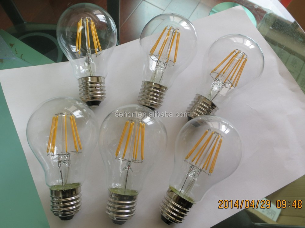 2014 Newest High Brightness high lumen12W LED Filament Bulb