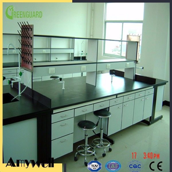 Amywell Brand matte surface Chemical resistance compact phenolic board Lab Worktop