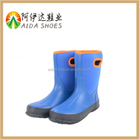 2016 New product men waterproof rubber rain boots/shoe covers