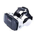 2016 vr boss virtual reality headset with earphone and microphone for iphone6 plus/6s/Samsung edge