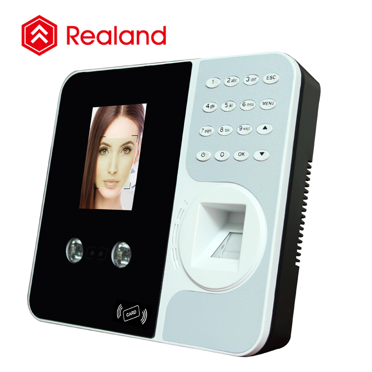 Realand F495 facial recognition system face attendance clocking device