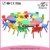 Preschool furniture cheap kids easy assembly garden chair and table